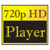 HD Video Player 720p icon