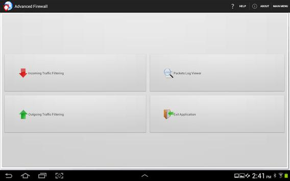 Advanced Firewall screenshot 7