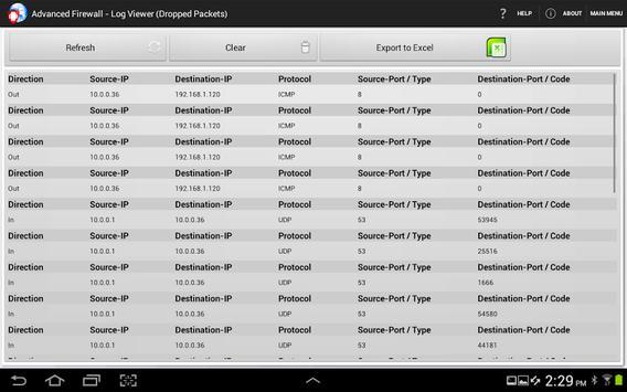 Advanced Firewall screenshot 10