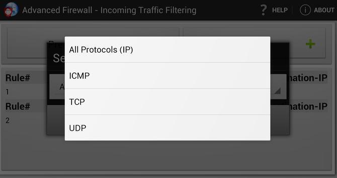 Advanced Firewall screenshot 2