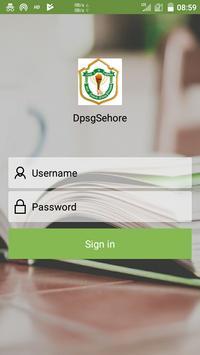 DPSG Sehore poster