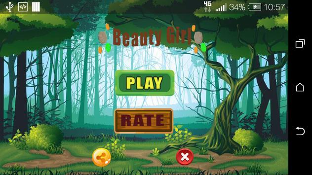Adventure Girl Run Game poster