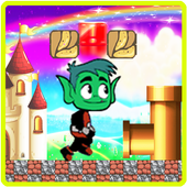 TITan adventure beast boy teen icon