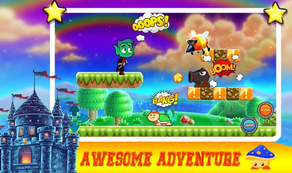 TITan adventure beast boy teen screenshot 3