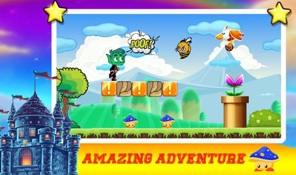 TITan adventure beast boy teen screenshot 4