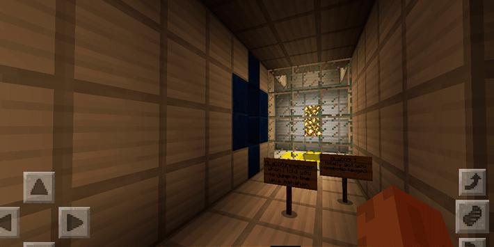 Thrilling Portal Adventure. MCPE map screenshot 2