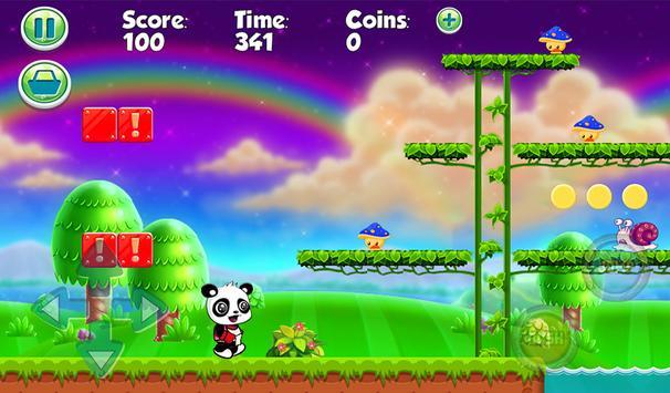Panshel run adventure Panda screenshot 6