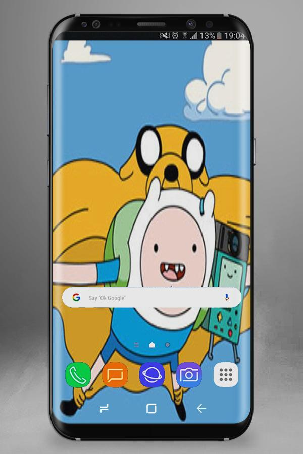 Adventure' Time Wallpaper poster