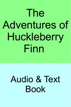Huck Finn - Audio and Text Book poster