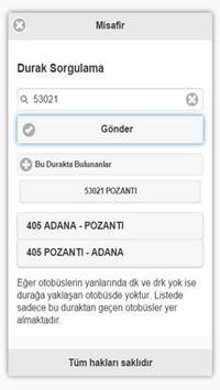 Adana Ulaşım screenshot 4