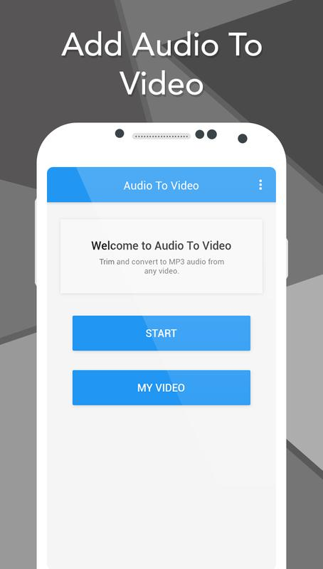 how to add audio to video online
