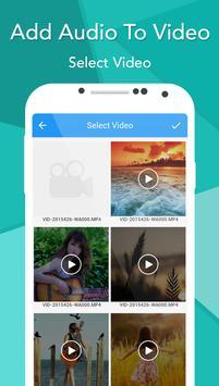 Add Audio To Video screenshot 1