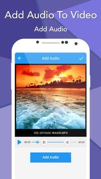 Add Audio To Video screenshot 2