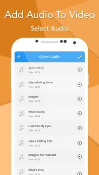 Add Audio To Video screenshot 3