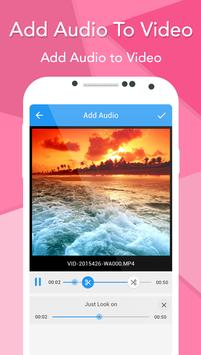 Add Audio To Video screenshot 4