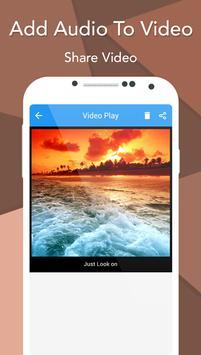 Add Audio To Video screenshot 5
