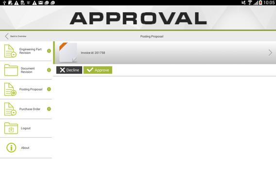 Approval screenshot 3