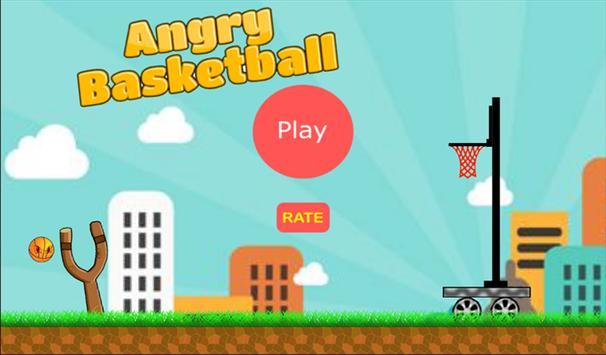 Angry Basketball poster