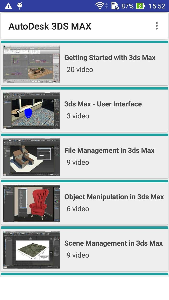 3ds Max Tutorials for Android - APK Download
