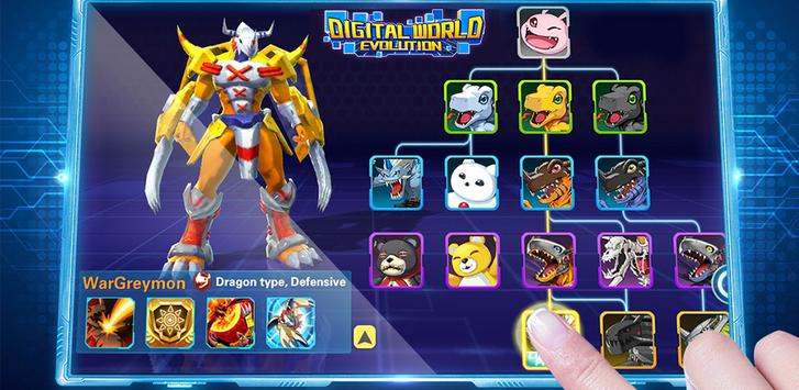 Digital World apk screenshot