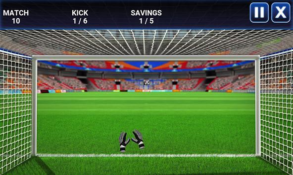 GoalKeeper Challenge screenshot