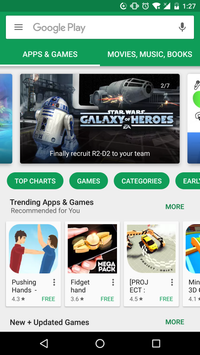 Google Play Store poster