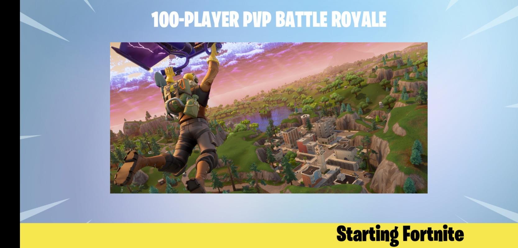 fortnite battle royale poster fortnite battle royale skrinshot 1 - fortnite download apk pc