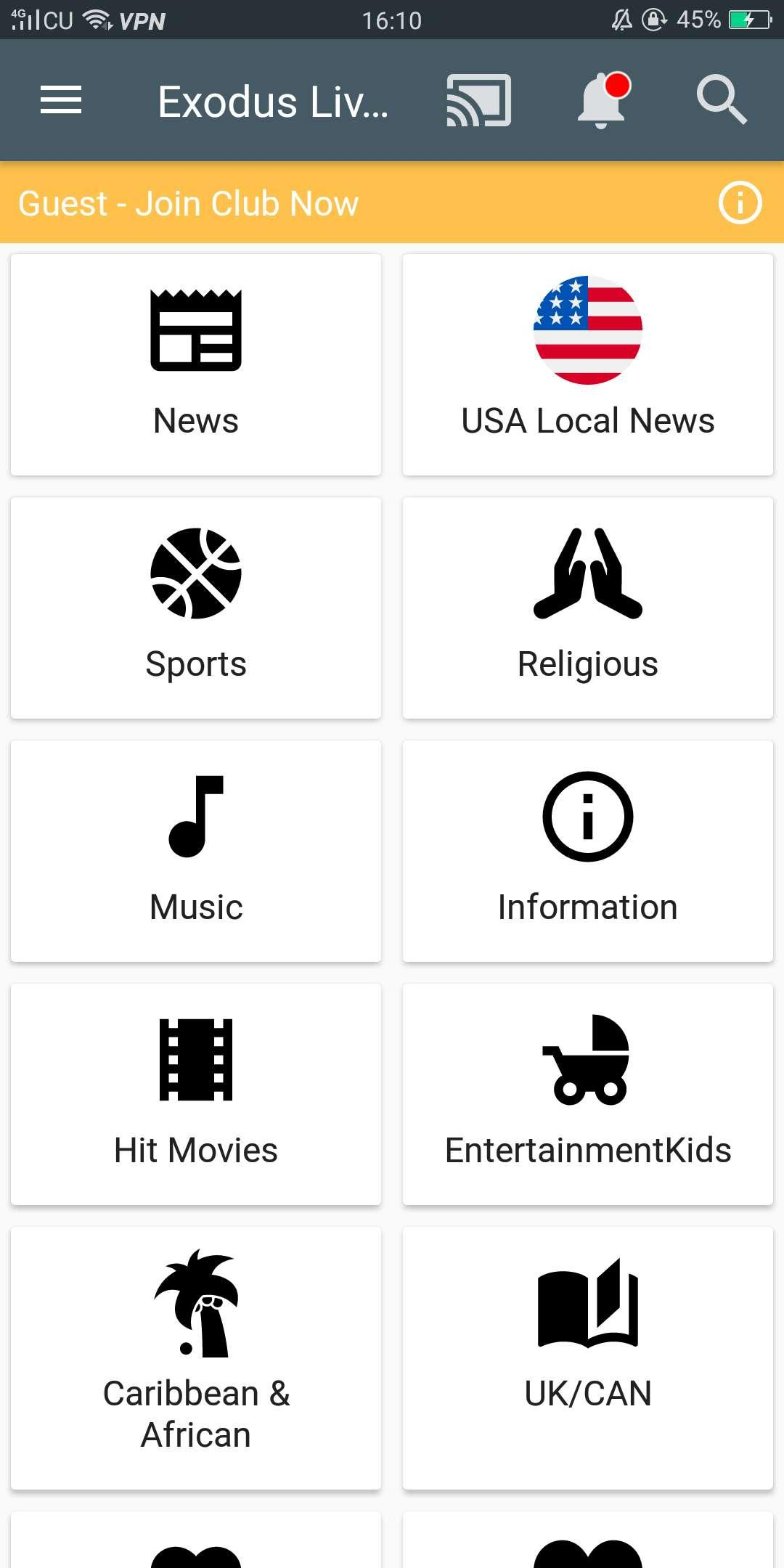 Exodus Live for Android - APK Download