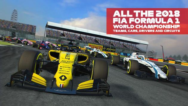 F1 Mobile Racing 海报