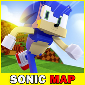 Map Sonic the Hedgehog for Minecraft icon