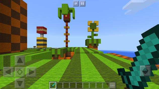 Map Sonic the Hedgehog for Minecraft screenshot 1