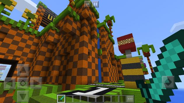Map Sonic the Hedgehog for Minecraft screenshot 5