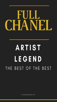 FULL CHANEL ARTIST LEGEND poster