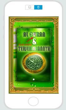 Al Quran & Terjemahannya poster