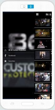 86 & Custom Protection screenshot 1