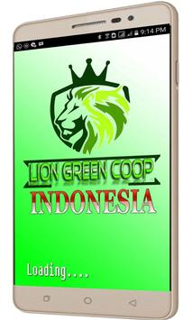 Lion Green Coop Indonesia poster