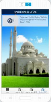 Kumpulan Ceramah Habib Rizieq apk screenshot
