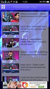 Kumpulan Video Indonesian Idol apk screenshot