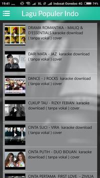Lagu Populer Indo screenshot 1