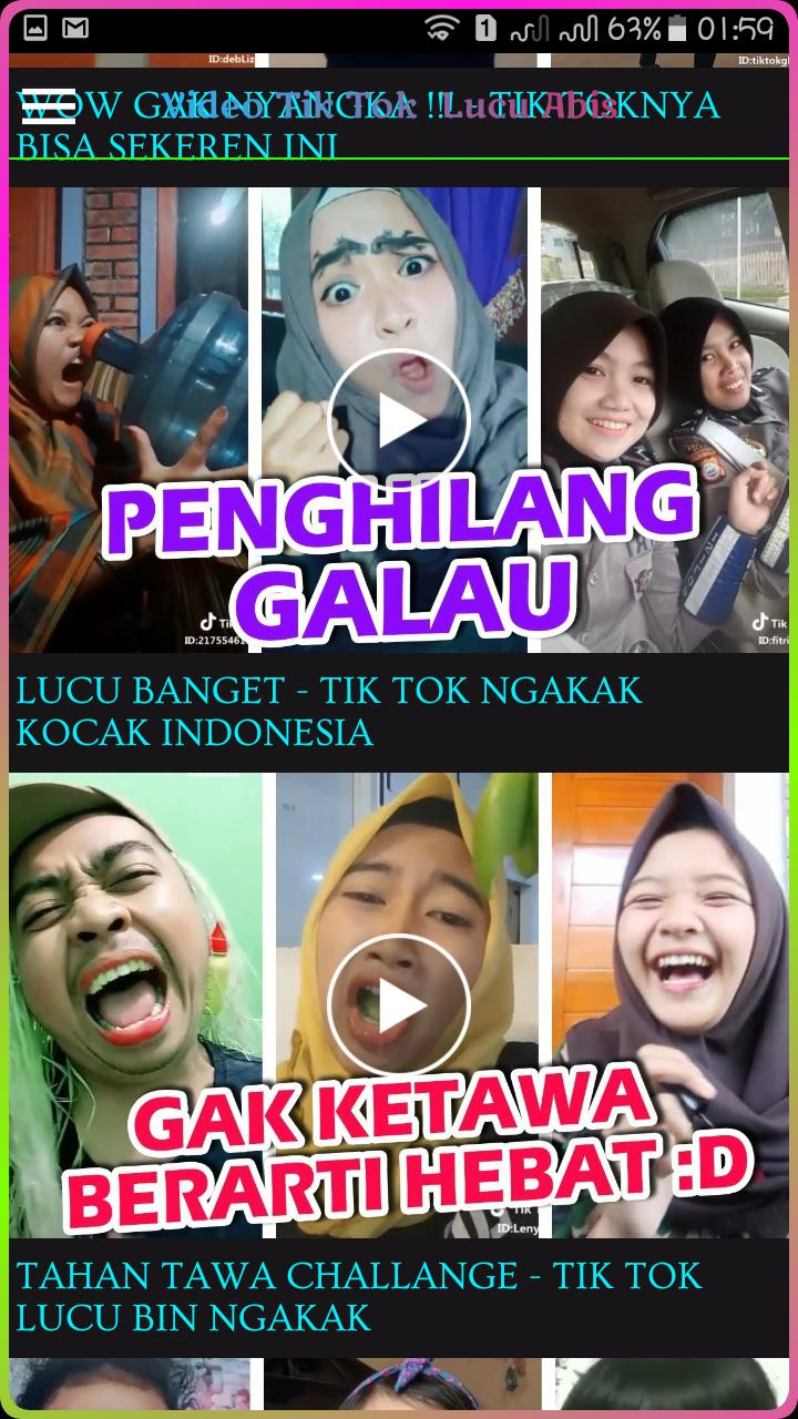 Video Tik Tok Lucu Terkoplak For Android APK Download