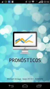 Calculadora de Pronósticos poster