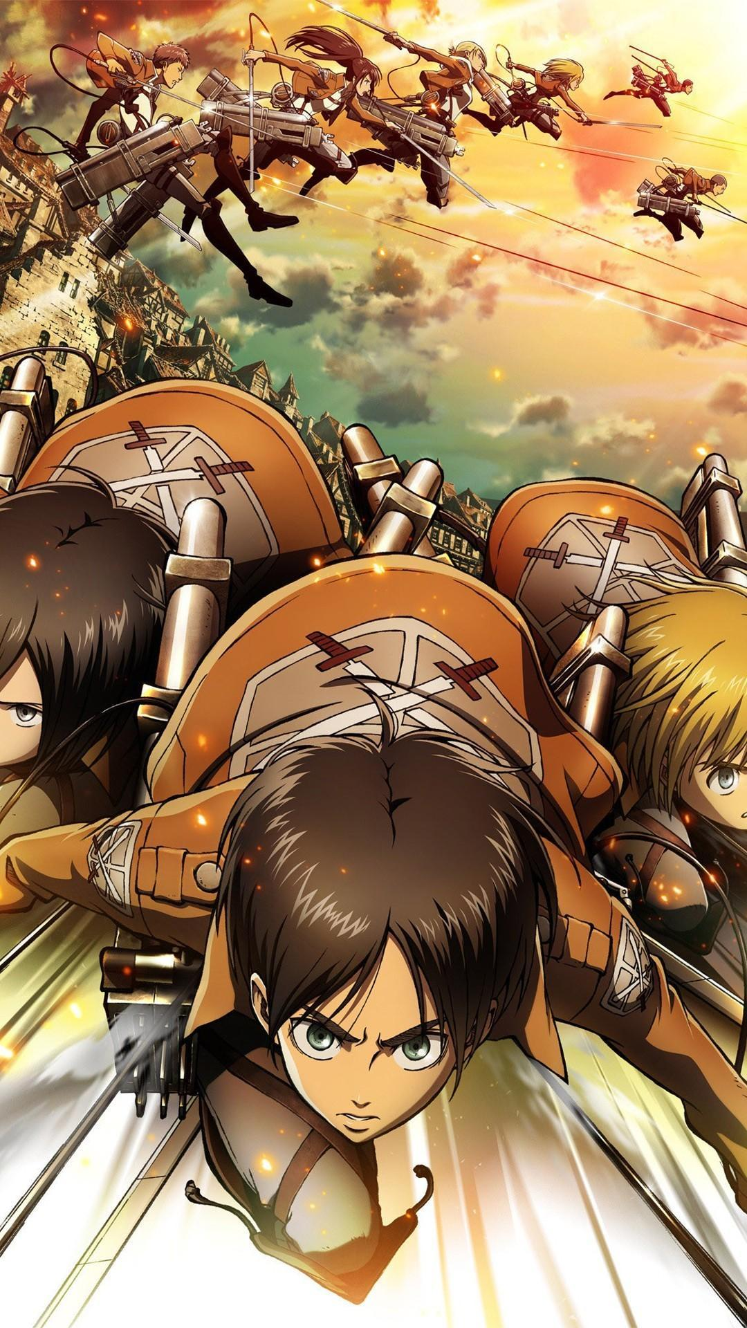 Attack On Titan Wallpapers Hd For Android Apk Download