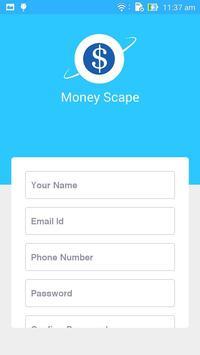 MoneyScape apk screenshot