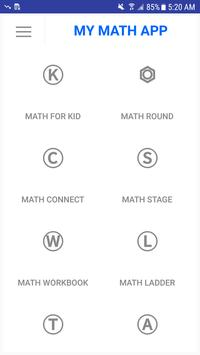 My Math App poster