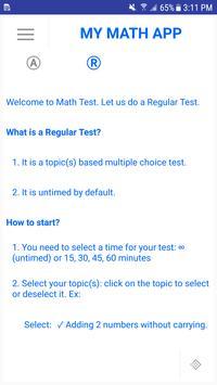 My Math App screenshot 2