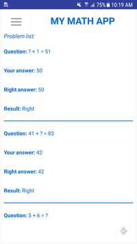My Math App screenshot 7