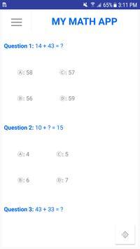 My Math App screenshot 4