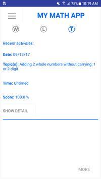 My Math App screenshot 6