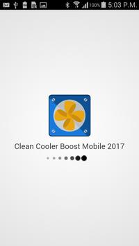 Clean Cooler Boost Mobile 2017 screenshot 1