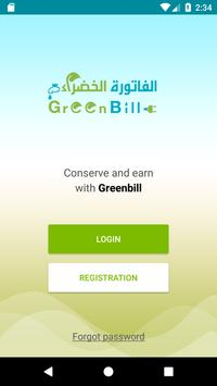 Greenbill - Conserve and Earn poster